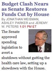 Budget Clash