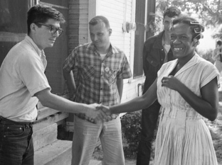 Freedom Summer handshake
