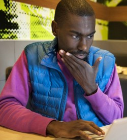 (detail of) DeRay Mckesson Sid Hastings:for W